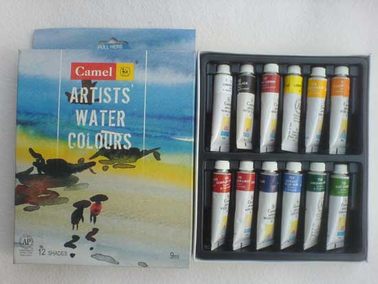 water colour paint brands in india camel