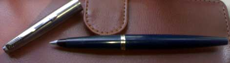 parker 45 fountain pen cherian m t